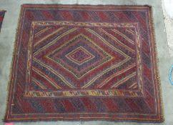 Gazak rug, 132cm x 113cm