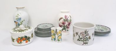 Portmeirion Botanic Garden large lilyflorum vase together with a collection of various other