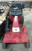 Wheelhorse A-85 5-speed ride-on lawnmower with Briggs and Stratton 319cc petrol engine