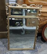 Two gilt framed mirrors (2)