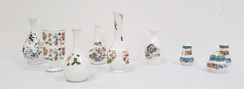Collection of six various decorative vases by Aynsley, Coalport, Minton, Wedgwood etc., a Crown