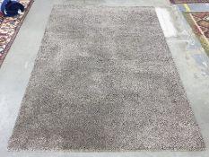 Ikea Adum brown rectangular rug, 170cm x 240cm