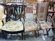 Two chairs and a stool (3)