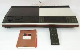 Bang & Olufsen Beocenter 7007 and apair ofBang & Olufsen of Denmark Beobox S45 speakers, with