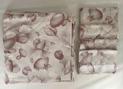 Italian Colibri 50% linen/50% cotton double duvet and four Oxford pillowcases(king size)