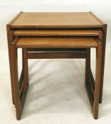 20th century G-Plan teak nest of three rectangular coffee tables Condition ReportThe tables are in