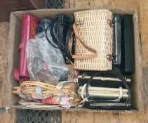 Various vintage and later handbags, purses, etc (1 box)  Condition ReportBags in good condition