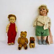 Assortment of child's toys, dolls, etc
