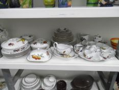 Large quantity of Royal Worcester 'Evesham' pattern tableware and sundry items  Condition