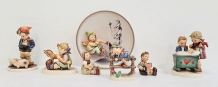 Collection of Goebel porcelain, comprising a first edition Four Seasons plate 'Winter' 1996 and a gr