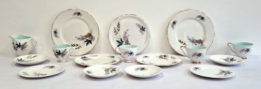 Queen Anne china part tea service 'Louise' pattern