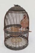 Two various wirework bird cages (2)