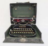 Corona vintage travelling typewriter