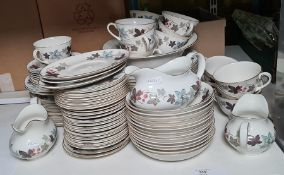 Royal Doulton 'Camelot'part dinner serviceto include dinner plates, side plates, tea plates,