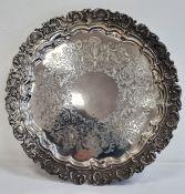 Silver salverby Goldsmiths & Silversmiths Company, 112 Regent Street, stamped, 27oz