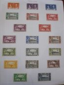 Sierra Leone stamps 1932 set to £1, mostly used, appears complete from 1932 - circa 1980 (1 album)
