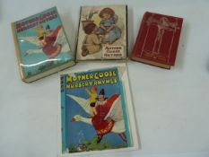 "Various editions of Mother Goose Nursery Rhymes including:- ""Mother Goose's Nursery Rhymes and Fairy"
