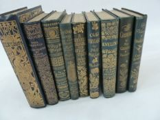 "Fine Bindings - Thomson, Hugh (ills)  Burney, Fanny ""Evelina ..."", Macmillan (1903)  Goldsmith,"