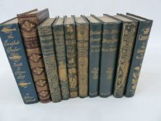 "Fine Bindings to include:- Mrs Gaskell ""Cranford""  ills Hugh Thomson, Macmillan 1894 Sheridan, R"