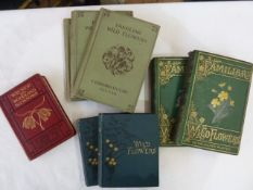 "Natural history Hulme, F Edward ""Familiar Wild Flowers"", Cassell & Co, various series, all within"