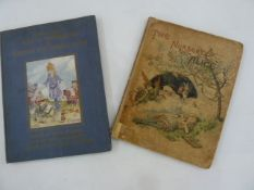 "Carroll, Lewis  ""The Nursery ""Alice"""" containing coloured enlargements from Tenniel's"