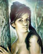 """After J H Lynch Modern print """"Tina"""", 56.5cm x 46.5cm"""