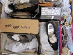 Large quantity of ladies shoesincluding Kay Shoes, Von Dal, Lotus, etc and a quantity of shoe trees