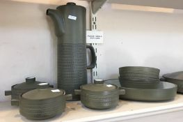 Denby greenstone part dinner and coffee service