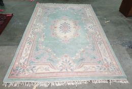 Chinese superwash rectangular rug, 273cm x 180cm