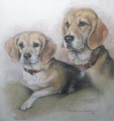 Small quantity of assorted pictures and printsincluding studies of dogs