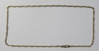 9ct gold anchor-link chain necklace, 11.5g Condition Reportlength 53 cms inc. clasp, condition