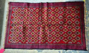 Baluchi rug 133 x 81 cm