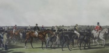 """After John Frederick Herring Senior (1795-1865) Coloured engraving """"Fores's National Sports"""","""