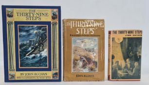 """Buchan, John """"The Thirty-Nine Steps"""", William Blackwood & Sons 1933, 15th impression, red cloth with"""