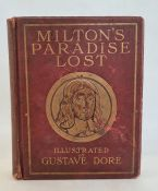 "Dore, Gustav ( ills.) ""Milton's Paradise Lost"", Cassell & Company, numerous plates, yellow ep,"