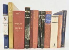 """Wine interest Various books to include:- Des Graves, Louis """"Bordeaux Cote de Beauty, Cote D'Argent"""","""
