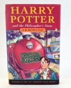 """Rowling, J K """"Harry Potter and the Philosopher's Stone"""", Bloomsbury 1997, pictorial boards which"""