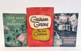 """Greene, Grahame """"The Third Man and The Fallen Idol - Two Entertainments by ..."""", William Heinemann"""