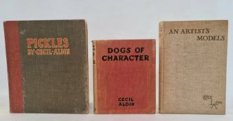 """Aldin, Cecil (ills) """"Pickles"""", Henry Frode and Hodder & Stoughton, illustrations on brown card,"""