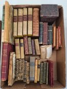 Collection of 16mo and miniature booksto include Walton's Alfieri, Dante, Cicero, Tasso, etc (1
