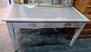 Grey painted desk/table