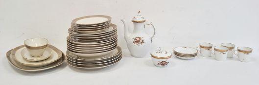 Rosenthal porcelain part dinner service'Duchess' pattern, no.3350 anda quantity of Royal