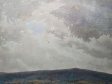"Terence Henry Lambert Watercolour ""Storm Over Exmoor"", signed lower left, 36cm x 45cm"