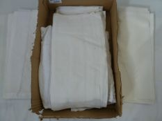 Six linen sheets (1 box)