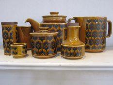 Quantity of Hornsea 'Heirloom' pattern china to include teapot, jug, milk jug, sugar bowl, eggcup,