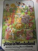 Various postersincluding Alice in Wonderland 'An Entertaining Musical Comedy', Quentin Blake and