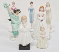Royal Doulton figuresDisney Princess 'Ariel', Disney Princess 'Jasmine', Coalport figures