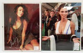 Quantity of signed photographsincluding The Harry Potter cast, Tom Cruise, Hugh Grant, Shania