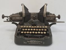Early 20th century The Oliver Typewriter by the Oliver Typewriter Company Limited, 75 Queen Victoria