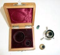 Ernst Leitz Wetzlar viewfinder in fitted wooden case